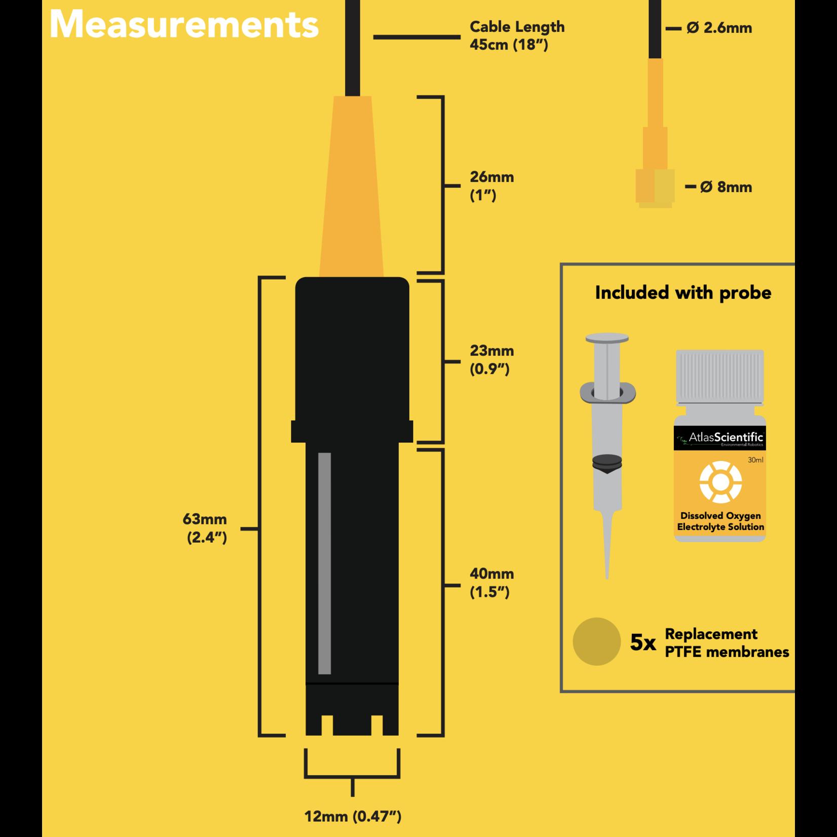 Atlas Scientific Mini Opgeloste zuurstof sensor