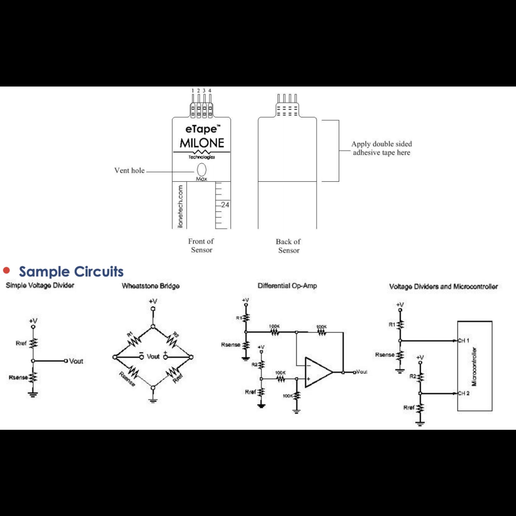 Milone Technologies Level sensor eTape®