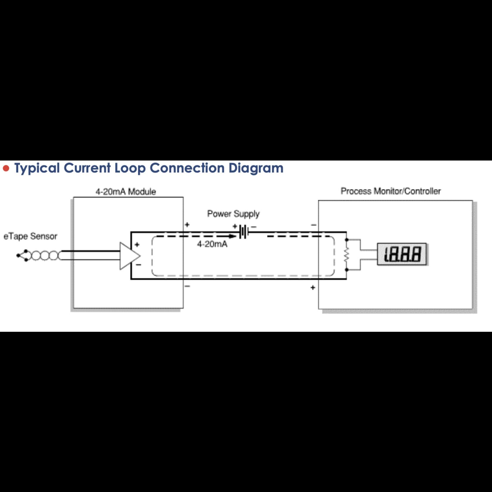 Milone Technologies 4-20mA weerstand  naar Current Module