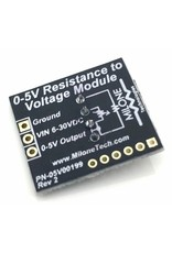 Milone Technologies 0-5V DC Resistance naar Voltage Module
