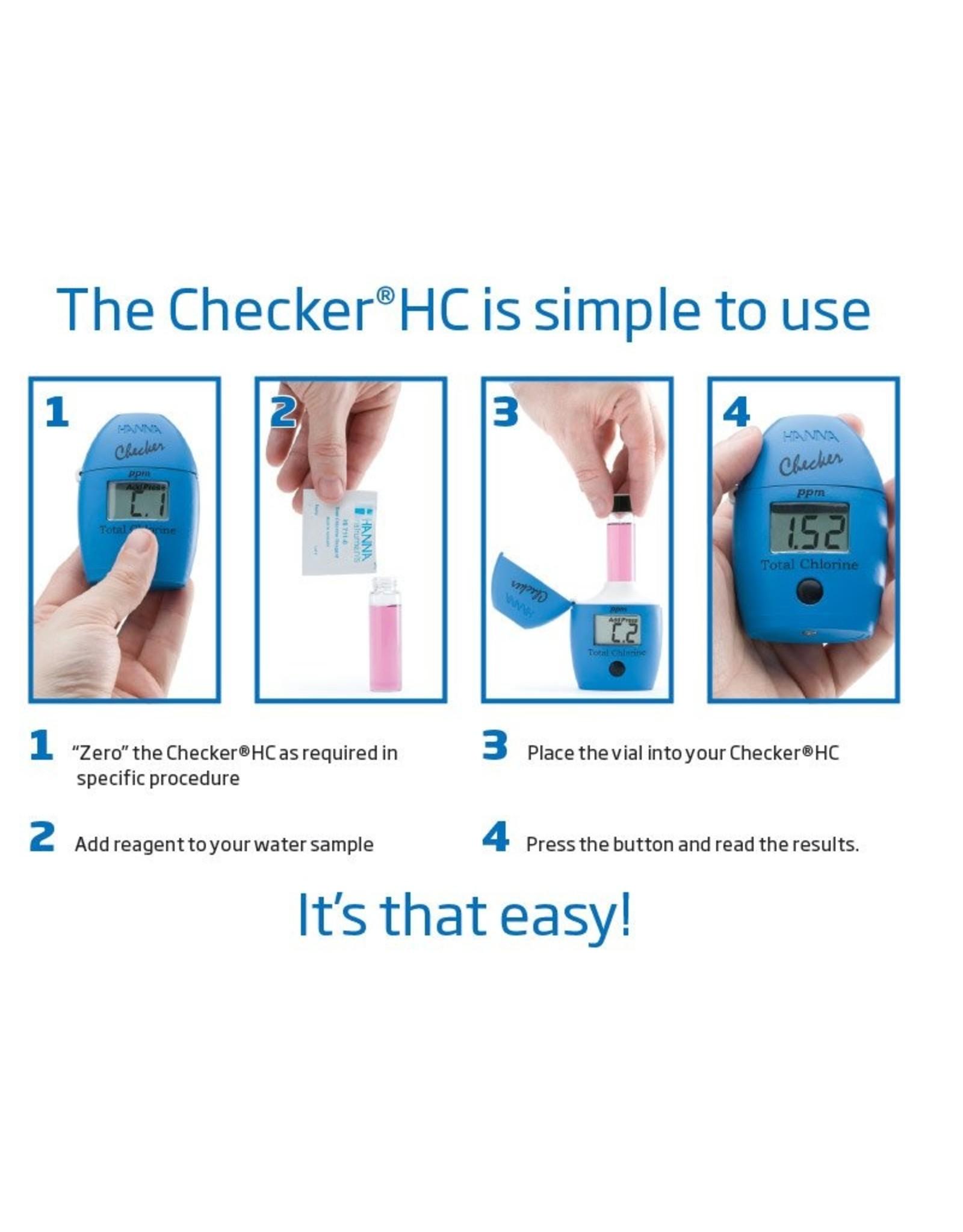Hanna Instruments HI707 fotometer checker nitriet LR, 0 to 600 ppb NO₂-N