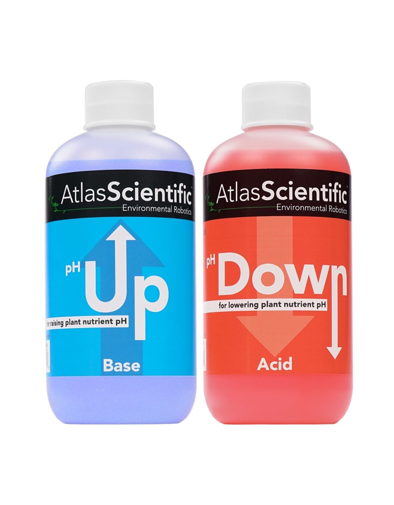 Atlas Scientific pH Up en pH Down 2x 1 L fles