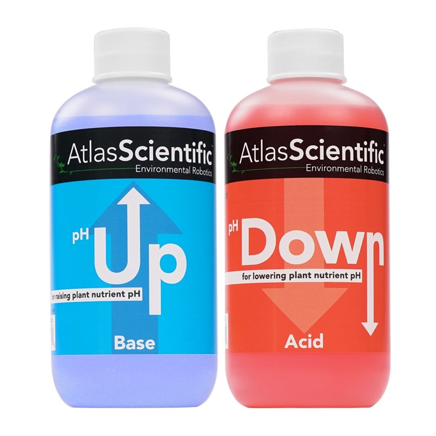 Atlas Scientific pH Up and pH Down 2x 1 L bottle
