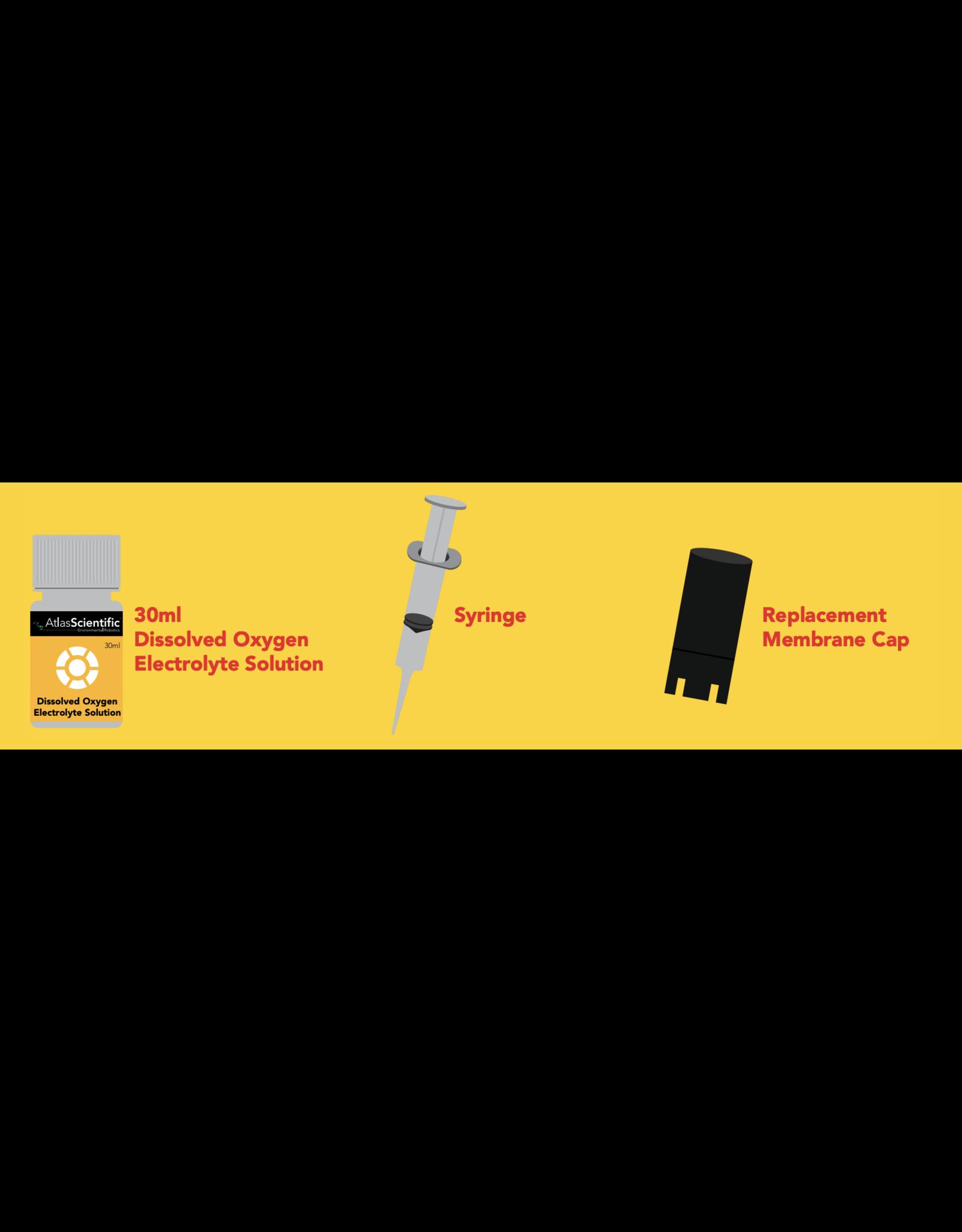Atlas Scientific Dissolved Oxygen Mini Lab Grade Membrane Replacement Kit