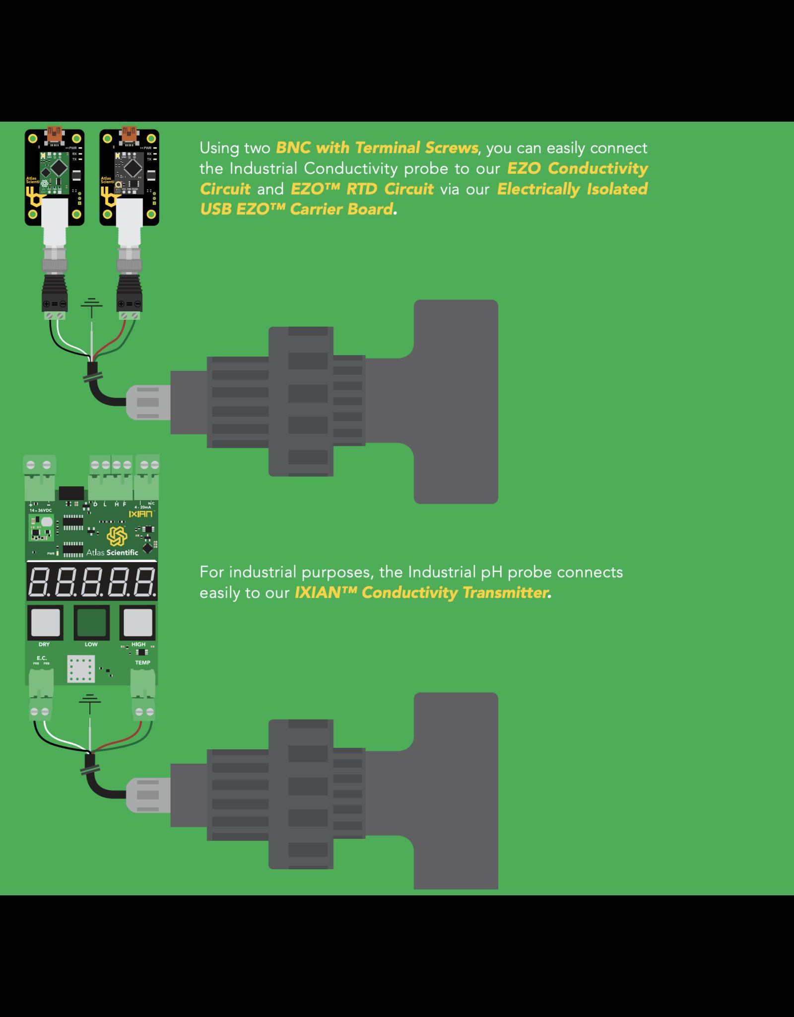 Atlas Scientific Industrial Geleidbaarheid Sensor Kit K 0.1