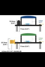 Atlas Scientific  EZO™  SMA Carrier Board ongeisoleerd
