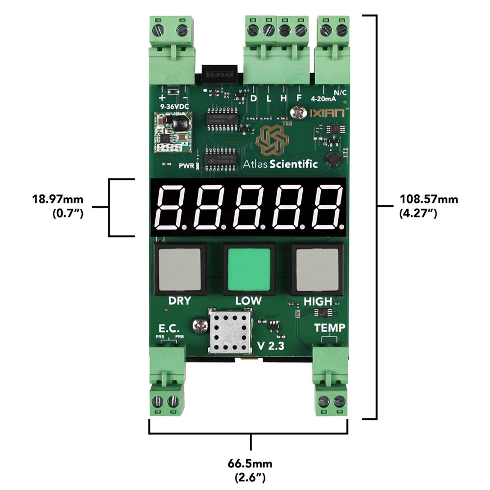 Atlas Scientific IXIAN™ Geleidbaarheid Transmitter