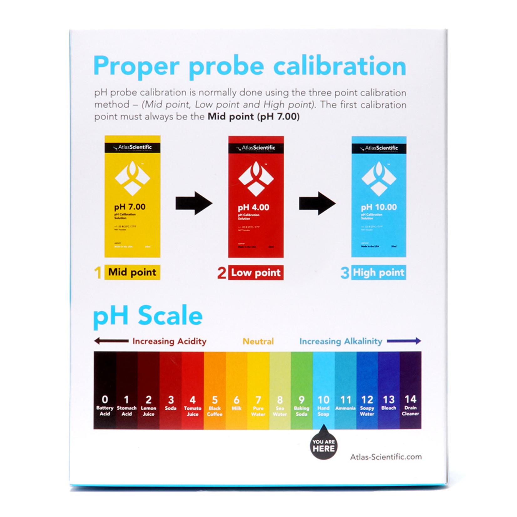 Atlas Scientific pH 10.00 kalibratieoplossing zakjes (Doos van 25)