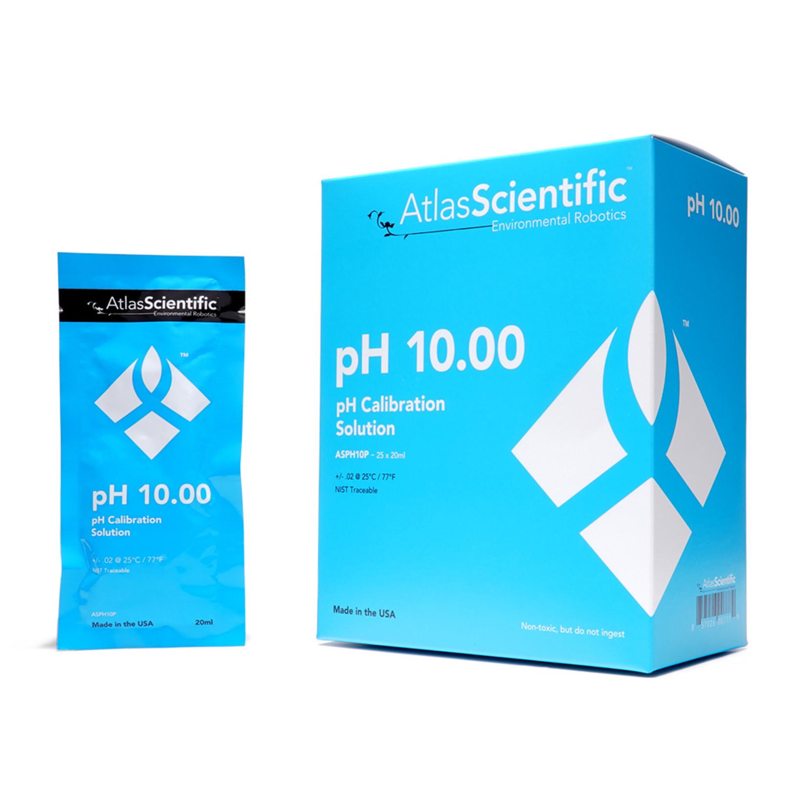 Atlas Scientific pH 10.00 Calibration Solution Pouches (Box of 25)