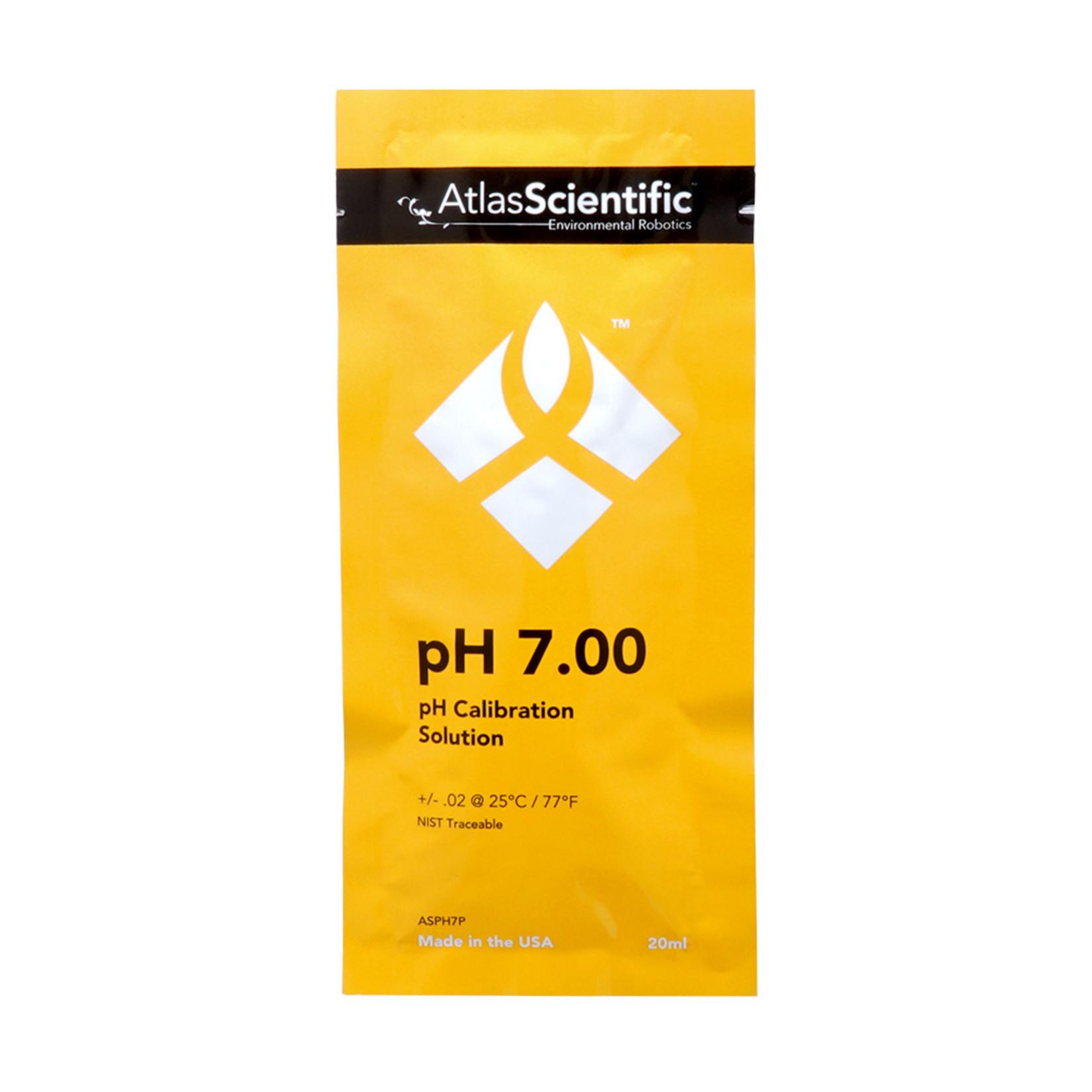 Atlas Scientific pH 7.00 Calibration Solution Pouches (Box of 25)