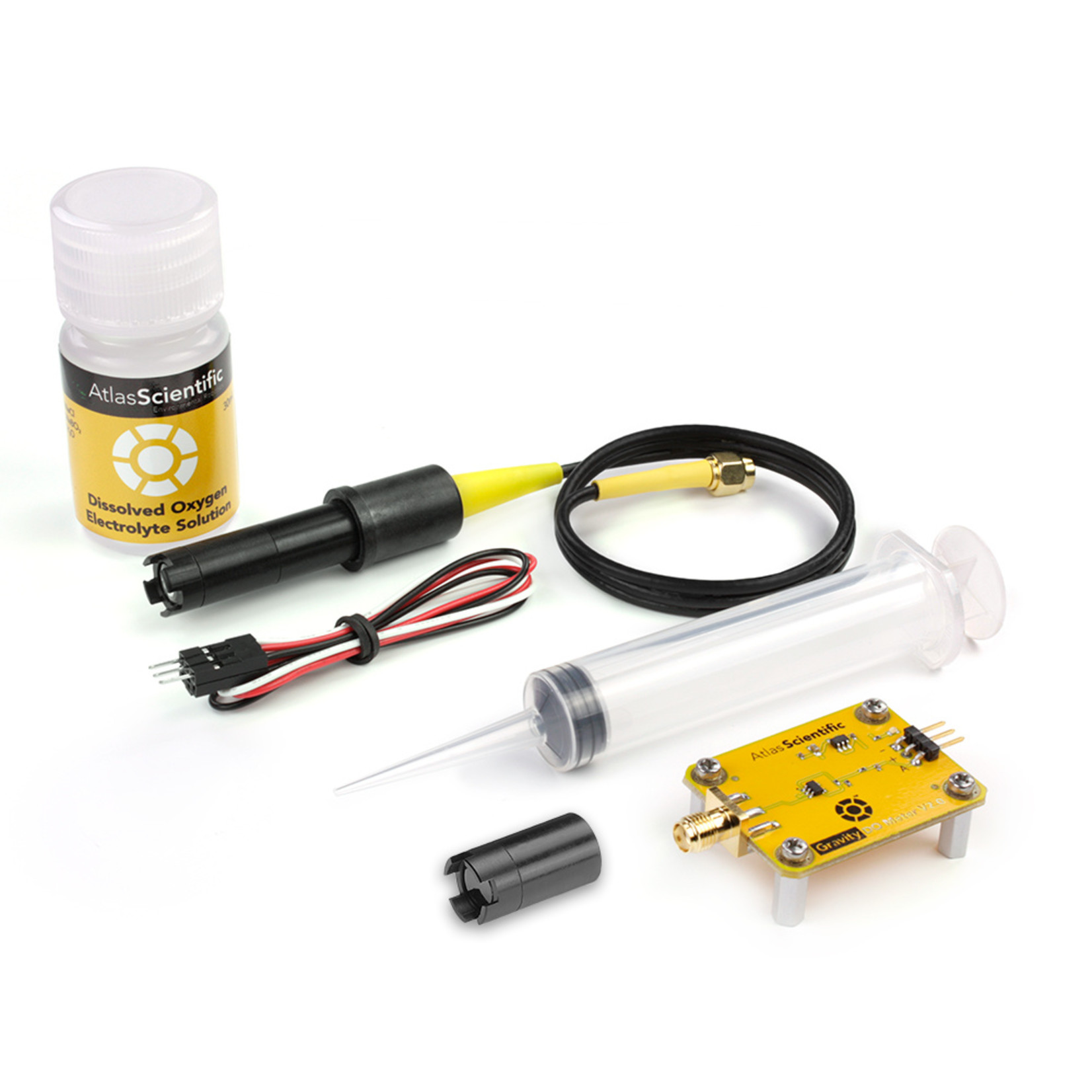 Atlas Scientific Gravity™ Analog Opgeloste Zuurstof Sensor Kit