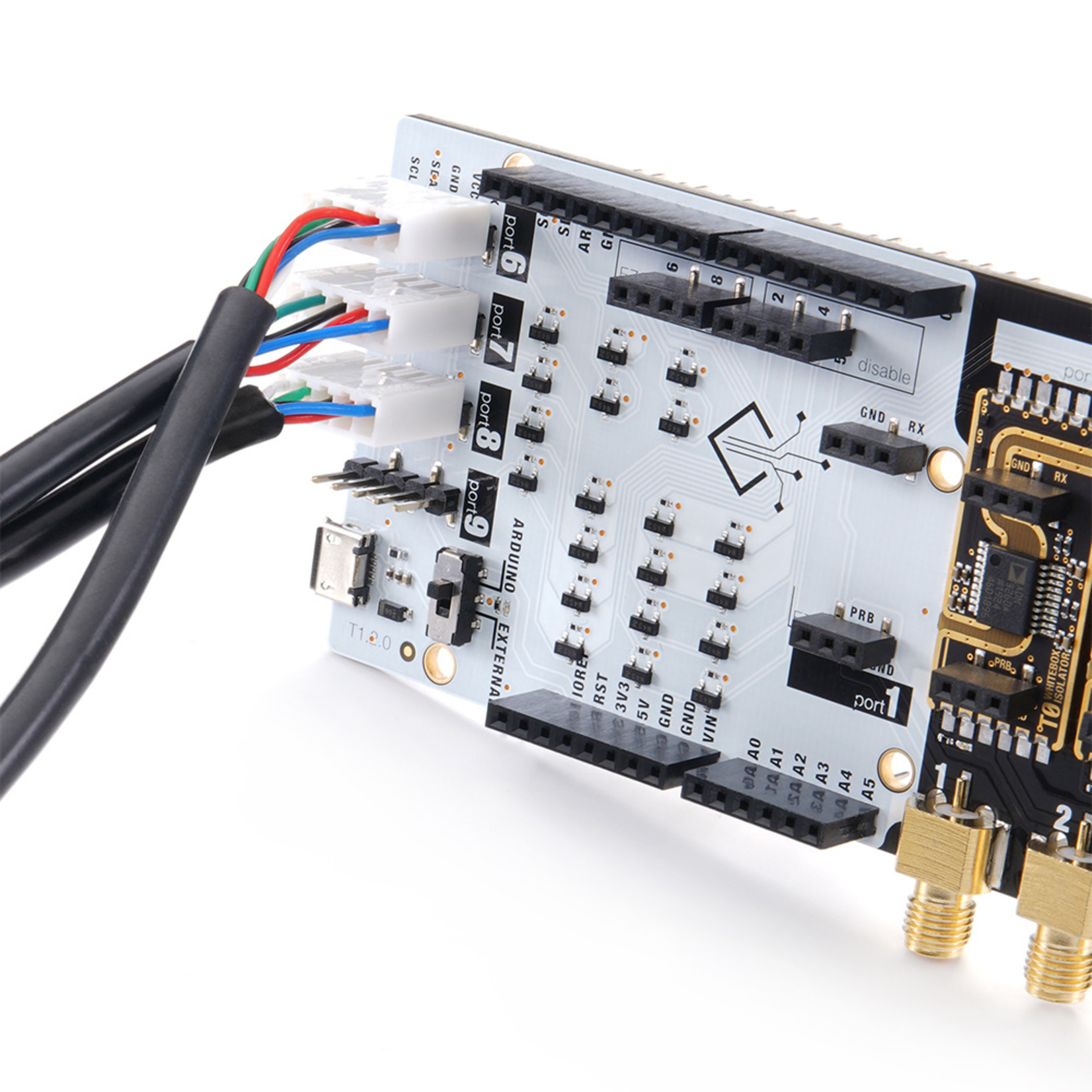 Whitebox Labs Tentacle Shield for Arduino
