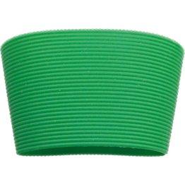 Silikonbanderole für Coffee to Go Becher grün, zu 0,3 L