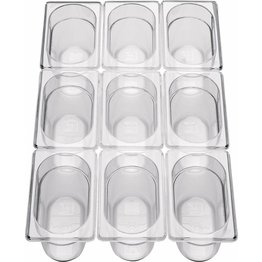 GN-Behälter 1/9 Polycarbonat 65mm