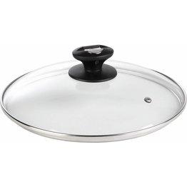 Glas-Deckel mit Dampfloch 20cm