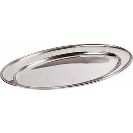 Bratenplatte/Servierplatte oval 50x35cm
