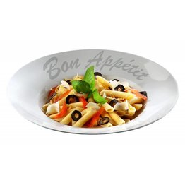"Pastateller ""Bon Appetit"", Ø 27,0 cm, rund - NEU"