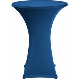 Stehtischbezug Ø 70 cm marineblau