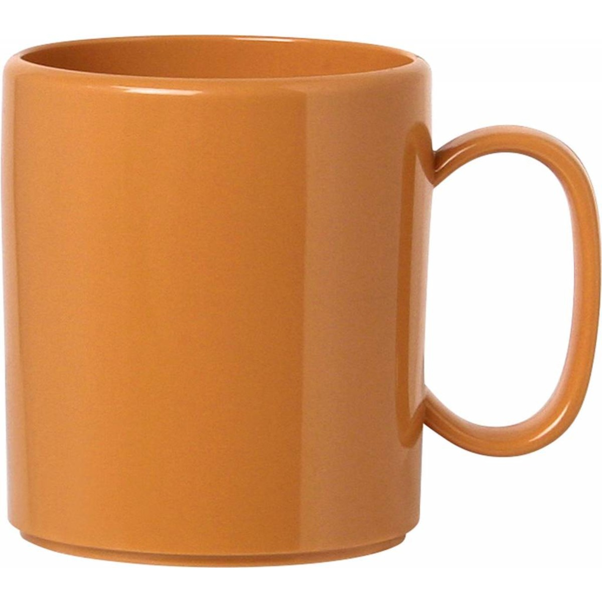 """Becher """"Colour"""" mit Henkel orange"""