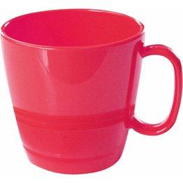 "Tasse obere ""Colour"" 0,23L Kunststoff PBT  cherry-rot"