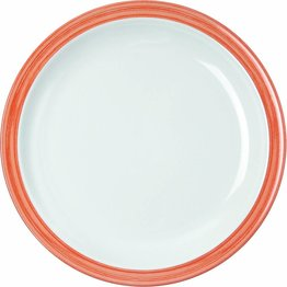 """Teller flach """"Colour"""" Ø23,5cm Melamin  orange"""