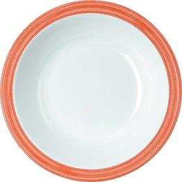 "Teller tief ""Colour"" Ø20,5cm 600ml Melamin  orange"
