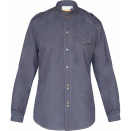 "Kochhemd ""Jeans 1892 California"", vintage black Gr. 50 - NEU"