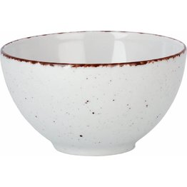 "Porzellanserie ""Granja"" weiß Schale, 14 cm"
