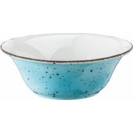 "Porzellanserie ""Granja"" aqua Schüssel, 18,5 cm - NEU"