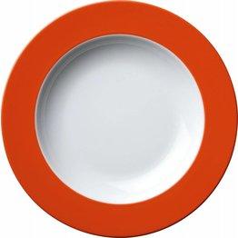 Teller tief Ø 22,5 cm orange