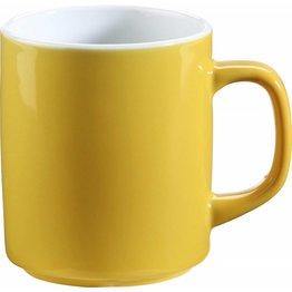 Kaffeebecher 0,3 L gelb