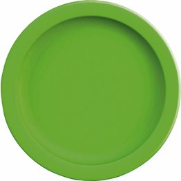 "Teller flach ""Colour"" Ø24,1cm PBT kiwigrün"