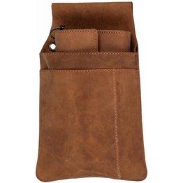 Kellnerbörse mit Revolvertasche