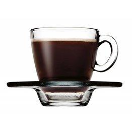 Tasse Obere+Untere Espresso Glas 12er Set