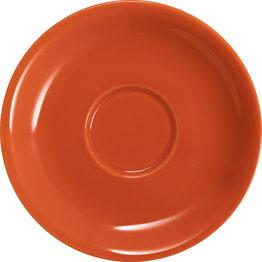 Jumbo-/Lattetasse untere orange