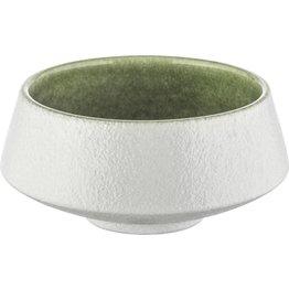 "Porzellan Serie ""Samoa"" grün Schale Ø 13cm - NEU"