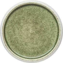 "Porzellan Serie ""Samoa"" grün Teller flach Ø19cm - NEU"