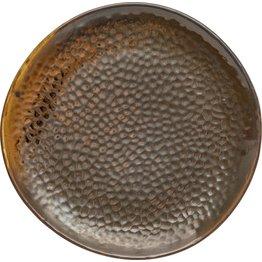 "Porzellanserie ""Rusty"" Teller flach Ø20,3cm - NEU"