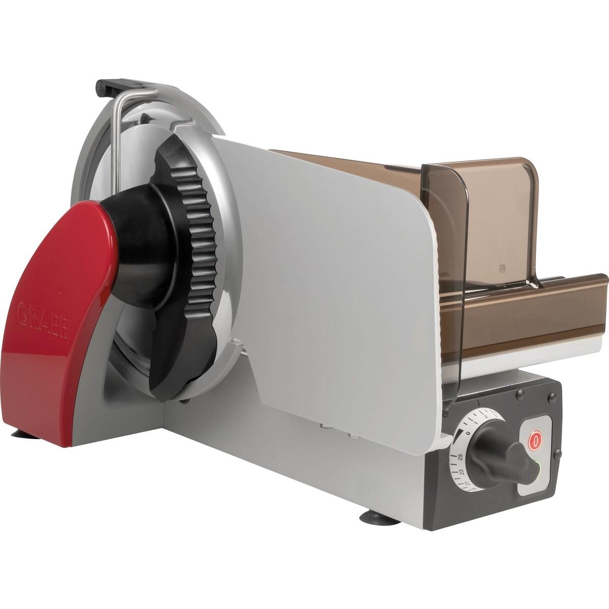 "Aufschnittmaschine ""Concept 25 K"" rot"