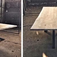 Eiken werkbladen en tafels
