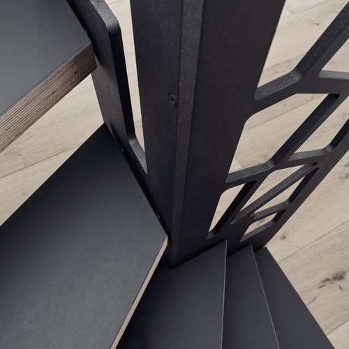 Fundermax Compact Interior 0080 FH zwart 2800 x 1300 mm zwarte kern