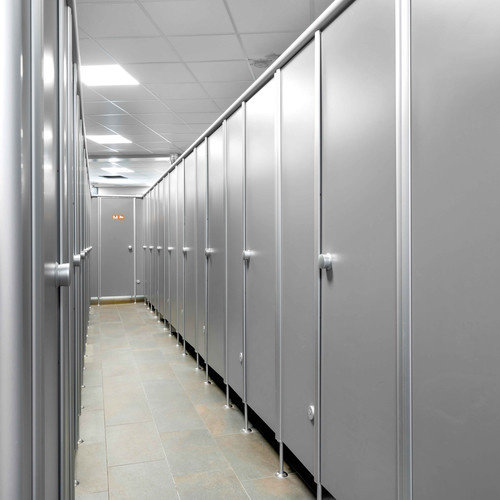 Fundermax Compact Interior Grijs 0741 FH Birch Grey  2800 x 1300 x 8 mm zwarte kern