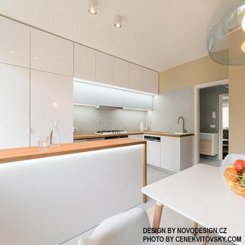 Fundermax Compact Interior full color 0606 FH Arctic White 4100 x 1854 x 13 mm door en door witte kern