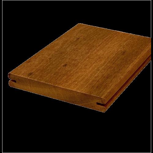 Itauba 21 x 145 mm Hardwood Clip Terrasplank Hardhout (per meter)