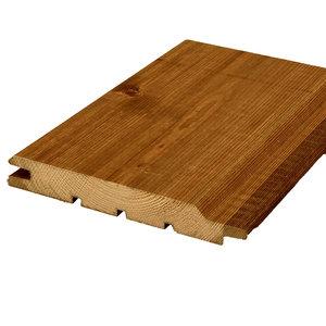 Grenen PEFC platband bruin geïmpregneerd 20 x 135 (per meter)