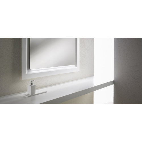 Betacryl Solid Surface Betacryl plaat Classic White 19 mm