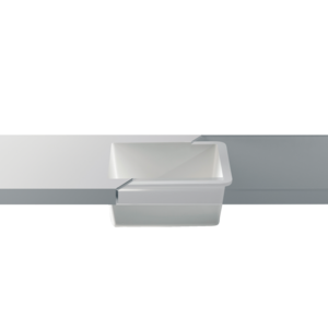Betacryl Solid Surface Keukenspoelbak 400 x 400 mm