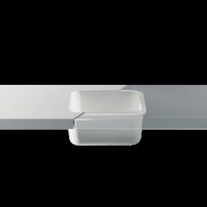 Betacryl Solid Surface Keukenspoelbak 397 x 397 mm