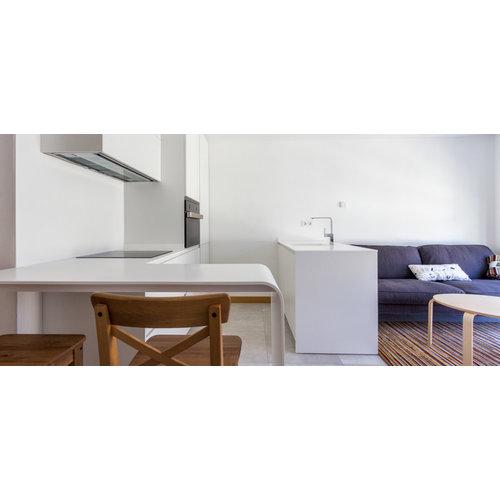 Betacryl Solid Surface Keukenspoelbak 300 x 300 mm zonder overloop BS 3030 Classic White