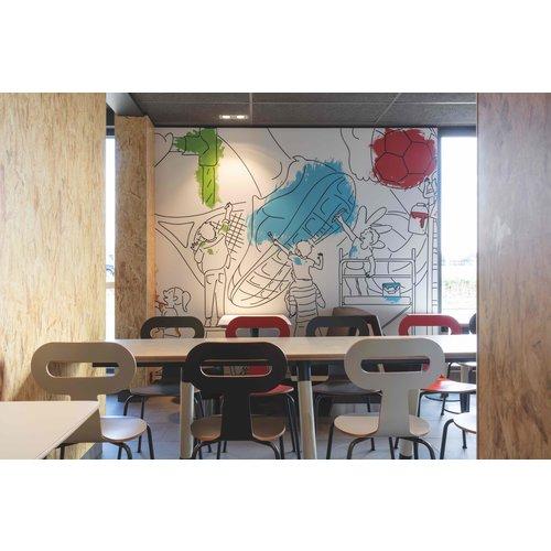 Unilin Clicwall Paint mat Deco Grundier 2785 x 618 x 10 mm (3,44 m² )